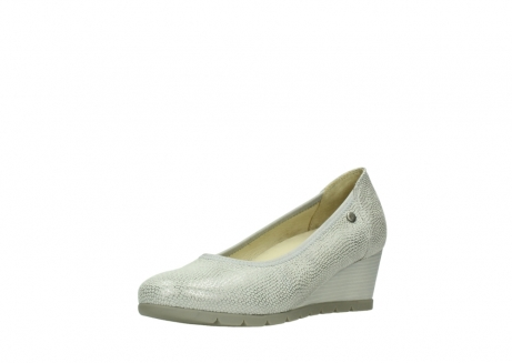 wolky court shoes 04665 ocean 20120 off white silver printed leather_22