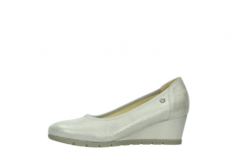wolky court shoes 04665 ocean 20120 off white silver printed leather_24