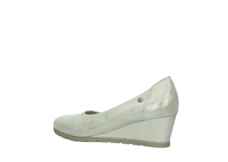 wolky court shoes 04665 ocean 20120 off white silver printed leather_3