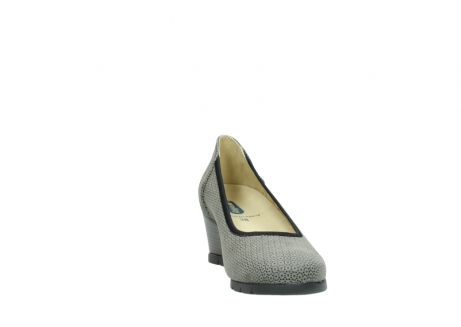 wolky pumps 04665 ocean 90153 taupe geprint suede_18