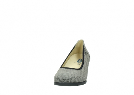 wolky pumps 04665 ocean 90153 taupe geprint suede_20