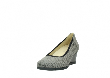 wolky pumps 04665 ocean 90153 taupe geprint suede_21