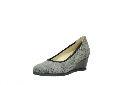 wolky pumps 04665 ocean 90153 taupe geprint suede_22