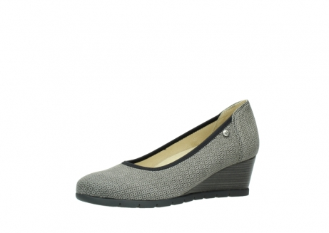 wolky pumps 04665 ocean 90153 taupe geprint suede_23