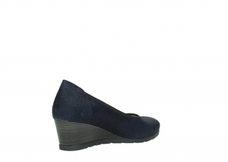 wolky court shoes 04665 ocean 90803 blue printede suede_10