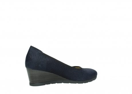 wolky court shoes 04665 ocean 90803 blue printed suede_11