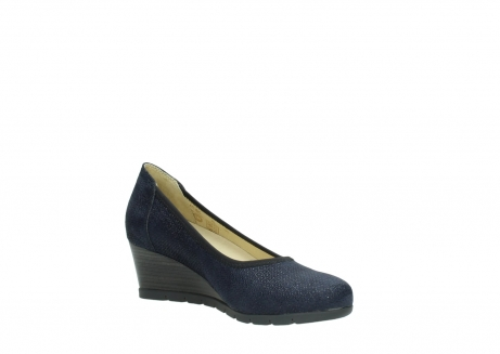 wolky court shoes 04665 ocean 90803 blue printed suede_16