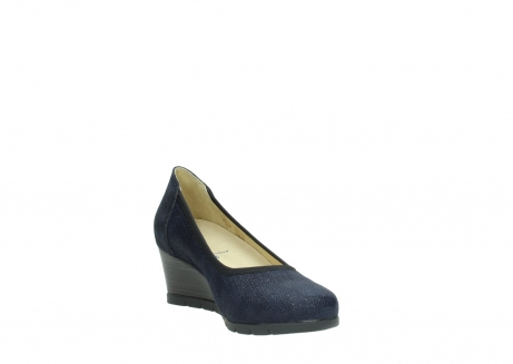 wolky court shoes 04665 ocean 90803 blue printed suede_17