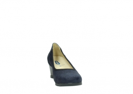 wolky court shoes 04665 ocean 90803 blue printede suede_18