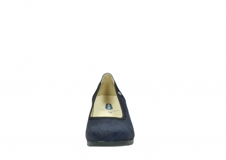 wolky court shoes 04665 ocean 90803 blue printede suede_19