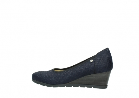 wolky court shoes 04665 ocean 90803 blue printed suede_2