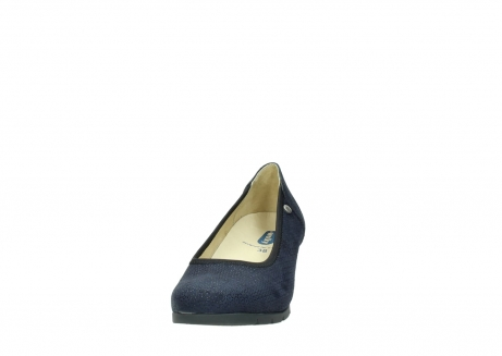 wolky court shoes 04665 ocean 90803 blue printede suede_20