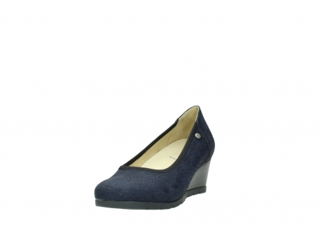 wolky court shoes 04665 ocean 90803 blue printed suede_21