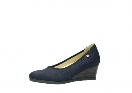 wolky court shoes 04665 ocean 90803 blue printed suede_23
