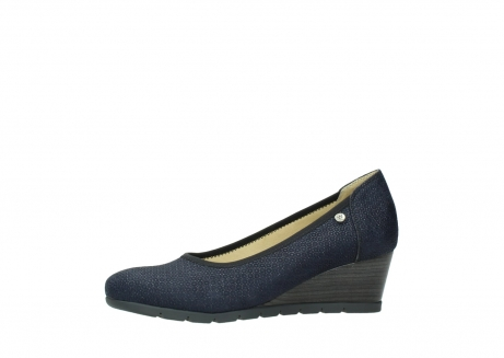wolky court shoes 04665 ocean 90803 blue printed suede_24