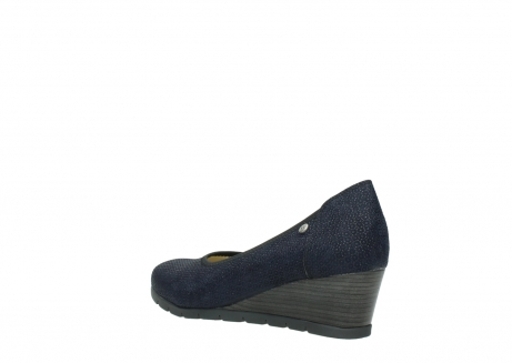 wolky court shoes 04665 ocean 90803 blue printed suede_4