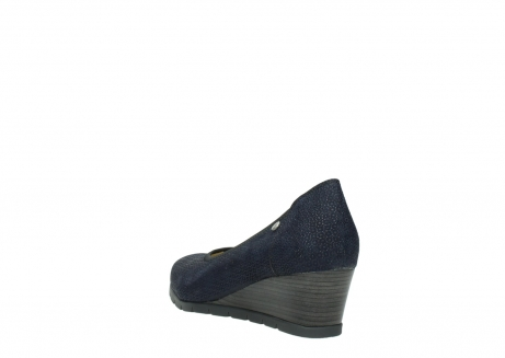 wolky court shoes 04665 ocean 90803 blue printede suede_5