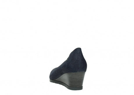 wolky court shoes 04665 ocean 90803 blue printede suede_6