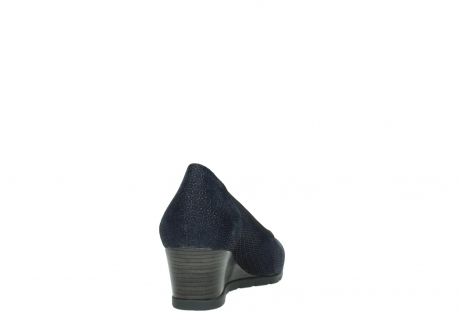 wolky court shoes 04665 ocean 90803 blue printede suede_8