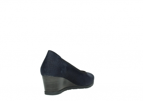 wolky court shoes 04665 ocean 90803 blue printed suede_9