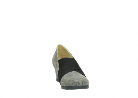 wolky court shoes 04667 fonda 90153 taupe printed suede_18