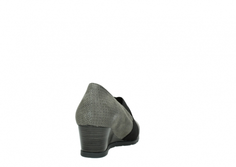 wolky court shoes 04667 fonda 90153 taupe printed suede_8