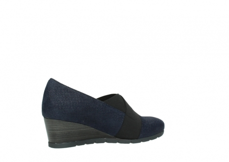 wolky court shoes 04667 fonda 90803 blue printed suede_11