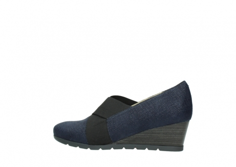 wolky court shoes 04667 fonda 90803 blue printed suede_2