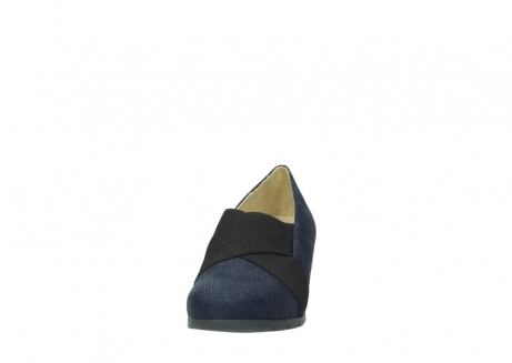 wolky court shoes 04667 fonda 90803 blue printed suede_20