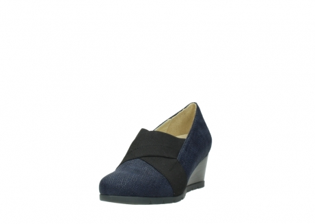 wolky court shoes 04667 fonda 90803 blue printed suede_21