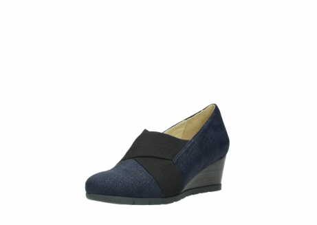 wolky court shoes 04667 fonda 90803 blue printed suede_22