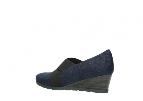 wolky court shoes 04667 fonda 90803 blue printed suede_3