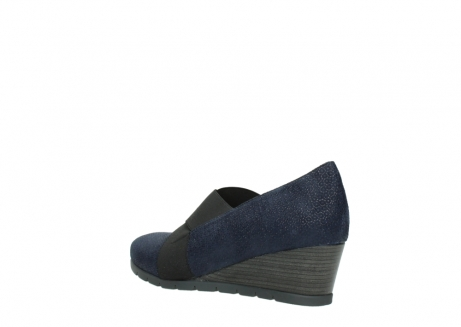 wolky court shoes 04667 fonda 90803 blue printed suede_4
