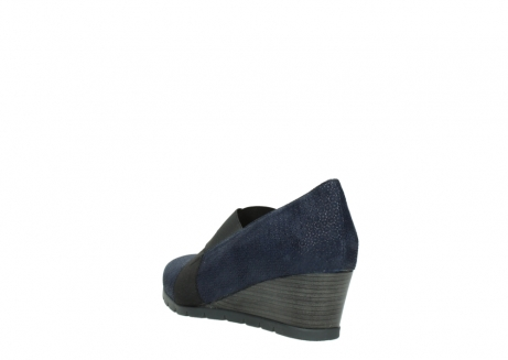 wolky court shoes 04667 fonda 90803 blue printed suede_5
