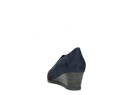wolky court shoes 04667 fonda 90803 blue printed suede_6