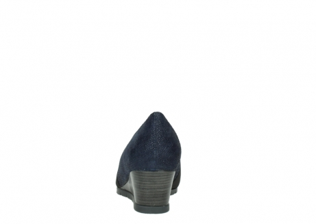 wolky court shoes 04667 fonda 90803 blue printed suede_7