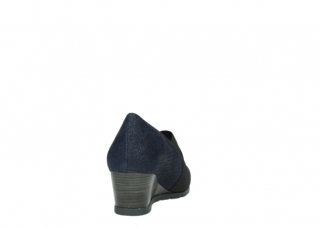 wolky court shoes 04667 fonda 90803 blue printed suede_8