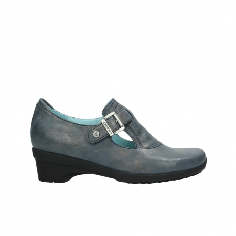 wolky court shoes 07652 indiana 80800 blue leather