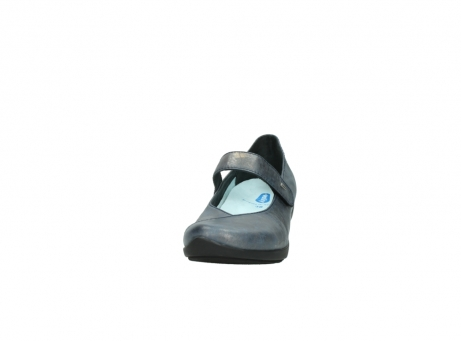 wolky pumps 07656 virginia 80800 blau leder_20