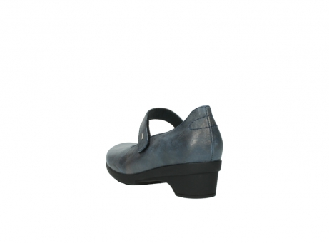 wolky pumps 07656 virginia 80800 blau leder_5