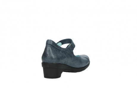 wolky court shoes 07657 georgia 80800 blue leather_9