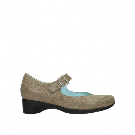 wolky pumps 07808 opal 90150 taupe leer