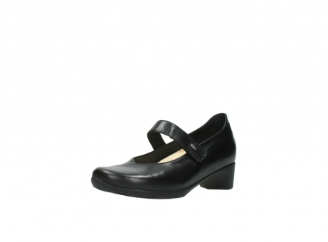 wolky pumps 07813 ruby 20000 zwart leer_22