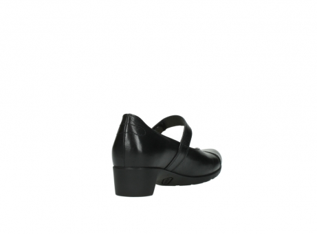 wolky pumps 07813 ruby 20000 zwart leer_9