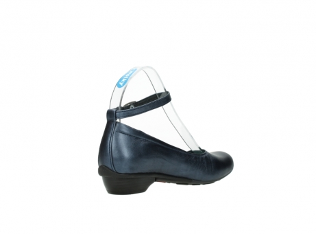 wolky court shoes 07952 monelli 90800 blue metallic leather_10