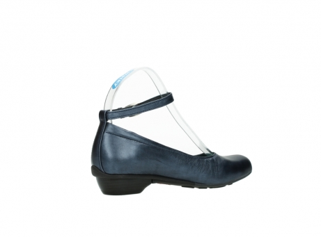 wolky court shoes 07952 monelli 90800 blue metallic leather_11