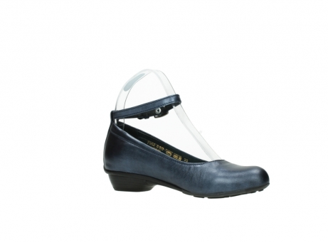 wolky court shoes 07952 monelli 90800 blue metallic leather_15