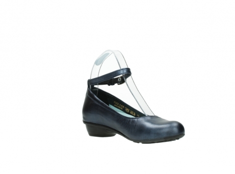 wolky court shoes 07952 monelli 90800 blue metallic leather_16