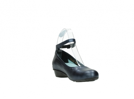 wolky court shoes 07952 monelli 90800 blue metallic leather_17