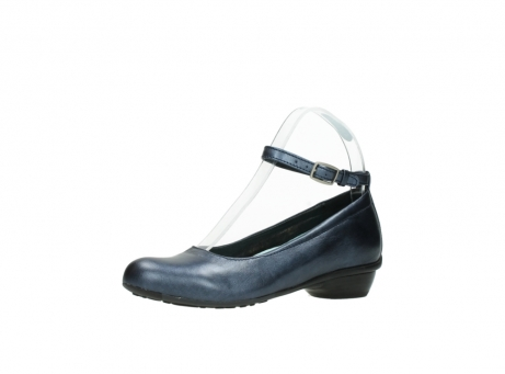 wolky court shoes 07952 monelli 90800 blue metallic leather_23